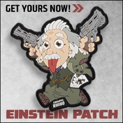 Einstein Velcro Patch