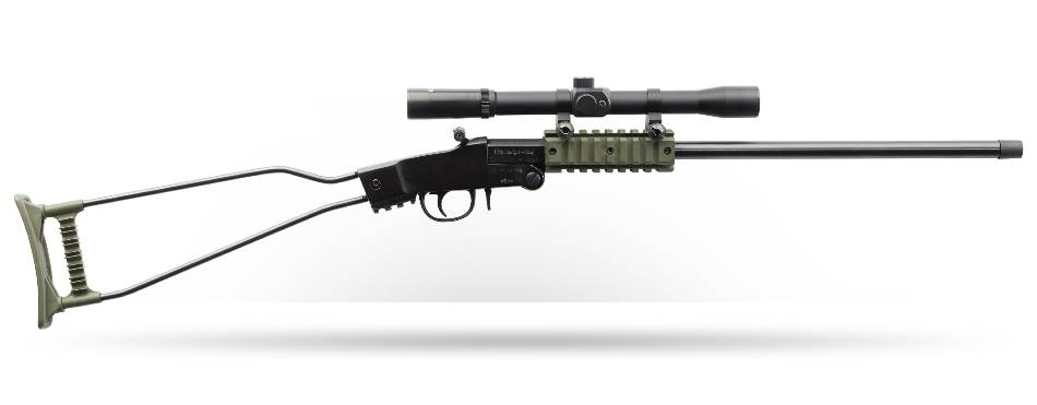 Little Badger Rifle (Black/OD Green) 22LR/16.5